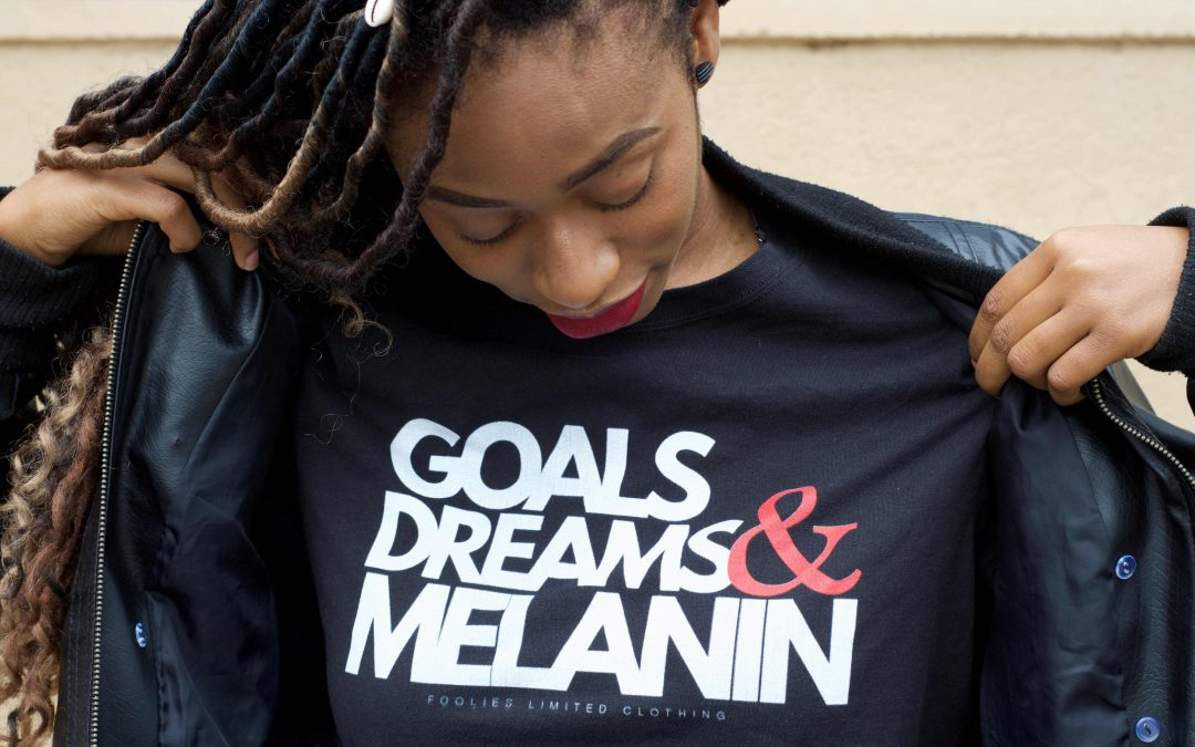 set goals on a tshirt