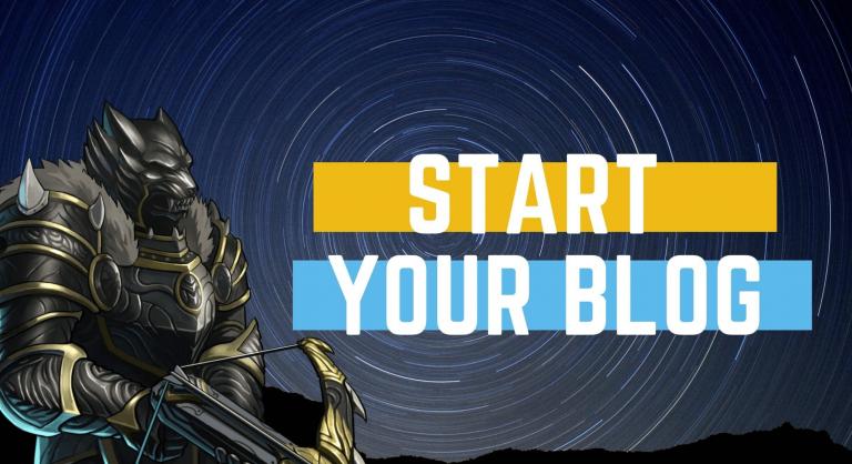 start a blog with clickbucks