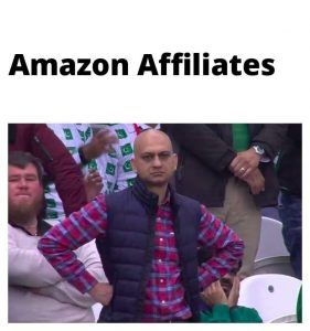 amazon affiliates dissappointed at commission reduction