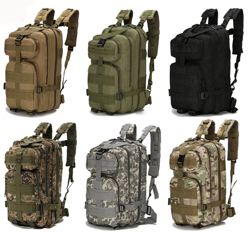 military type backpacks