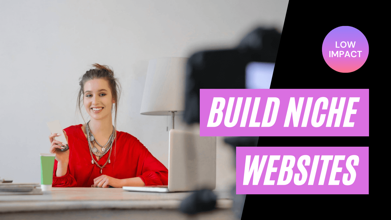 Build niche website lifestyle businesses