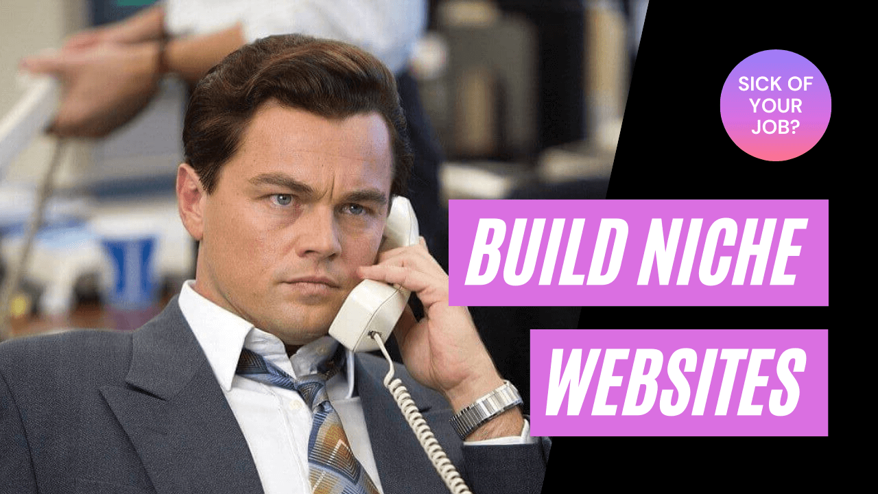 Build niche website wolf of wall street