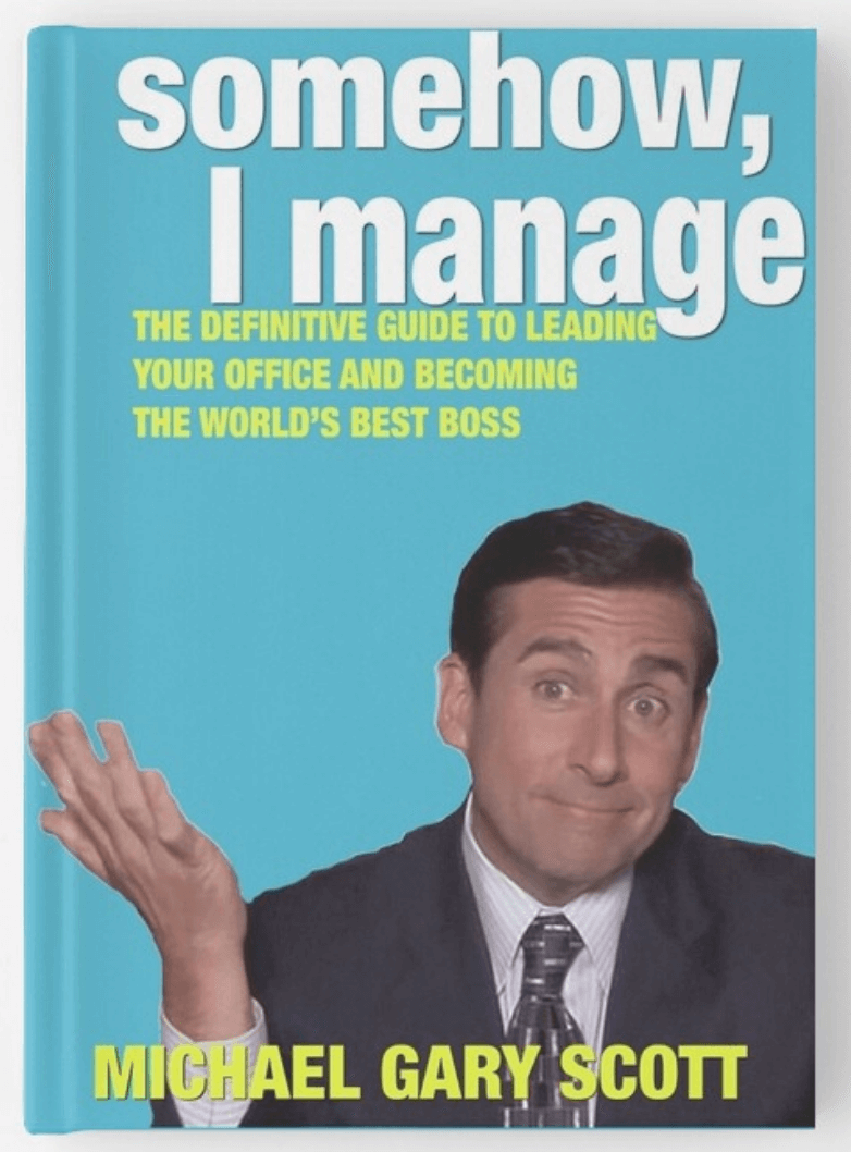 somehow i manage by michael scott