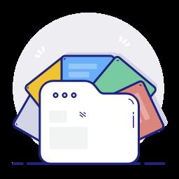organised cloud storage files