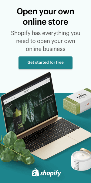 start a store with shopify