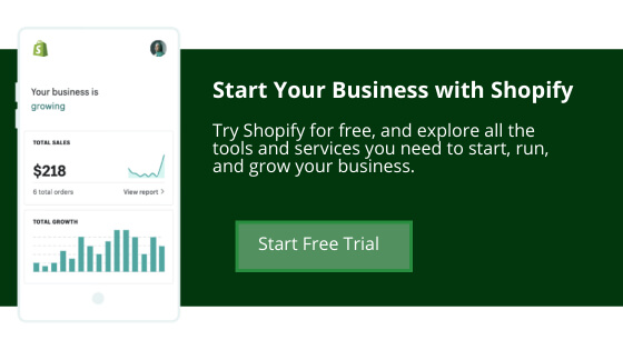 Shopify free trial offer
